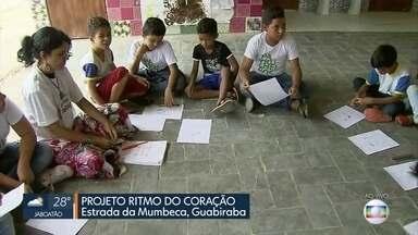 Projeto Ritmo do Coração dá aula de solidariedade na Guabiraba - Trabalho existe a partir do trabalho de voluntários