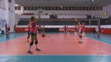 Sesi-Bauru abre semifinal do Campeonato Paulista contra o Pinheiros - Duelo desta quinta-feira começa a decidir o primeiro finalista do estadual feminino