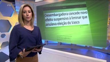 Justiça caça liminar e eleição de Alexandre Campello volta a valer no Vasco - Justiça caça liminar e eleição de Alexandre Campello volta a valer no Vasco