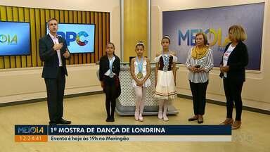 Primeira Mostra de Dança de Londrina estreia nesta quinta (25) - São mais de 30 apresentações de balé, valsa, ginástica rítmica, entre outros ritmos.