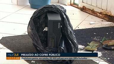 Em 2018 já são 59 casos de furtos em prédios públicos da prefeitura de Ponta Grossa - Gasto só com furtos em UBS alcança R$ 300 mil por ano.