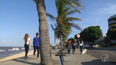Ventos oferecem sensação térmica mais agradável nos dias de Sol em Santarém - Nas ruas de Santarém, no quintal da sua casa, observando o varal de roupas vc já percebeu que Santarém está mais ventilada.