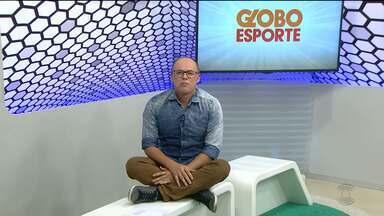 Globo Esporte CG: confira a íntegra do Globo Esporte desta quinta-feira (25.10.18) - Marcos Vasconcelos aborda o que é destaque no esporte da Paraíba
