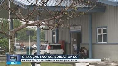 Duas crianças são agredidas em SC; casos ocorreram em Camboriú e Canoinhas - Duas crianças são agredidas em SC; casos ocorreram em Camboriú e Canoinhas
