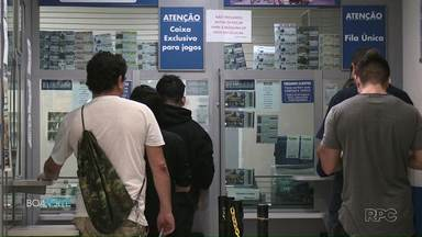 Apostador de Ponta Grossa ganha R$ 1,2 milhão em aposta premiada na Quina - A pessoa que ganhou ainda não buscou o prêmio.