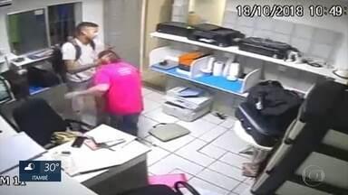 Bandidos assaltam empresa de assistência técnica e agridem funcionária - Crime ocorreu na Zona Sul do Recife