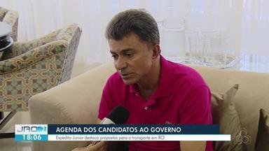 Confira o dia de campanha de Expedito Junior - Candidato ao governo se preparou para o debate da Rede Amazônica.