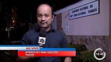 Sexta-feira começa o transporte das urnas e trânsito em Taubaté é interditado - As interdições acontecerão nas ruas dos cartórios eleitorais.