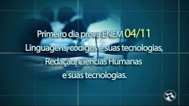 Projeto Aprovação passa dicas para fazer prova do Enem - Ação é realizada pela TV Asa Branca e vai acontecer no dia 2 de novembro.