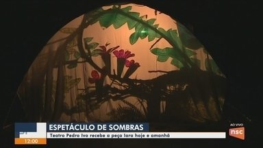 Espetáculo de sombras conta a história de Iara em Florianópolis - Espetáculo de sombras conta a história de Iara em Florianópolis