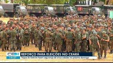 Exército reforça segurança durante as eleições no Ceará - Saiba mais em g1.com.br/ce