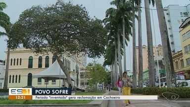 População reclama da folga de funcionários públicos em Cachoeiro de Itapemirim - As pessoas não ficaram satisfeitas com o motivo da folga.