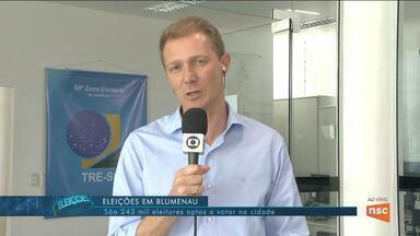Vidal Ramos tem eleições suplementares para prefeito; 240 mil eleitores votam na Serra - Vidal Ramos tem eleições suplementares para prefeito; 240 mil eleitores votam na Serra de SC