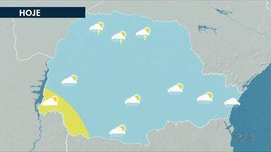 Domingo será ensolarado - No sábado, ainda deve chover.