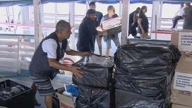 Barco a serviço do TRE é apreendido no Amazonas - Segundo a Marinha, documentação estava irregular