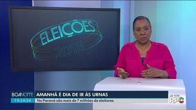 Mais de sete milhões de eleitores vão às urnas no Paraná - Saiba como funciona o segundo turno das eleições.