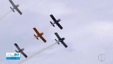 Única base aeronaval do país está em São Pedro da Aldeia, no RJ - Assista a seguir.