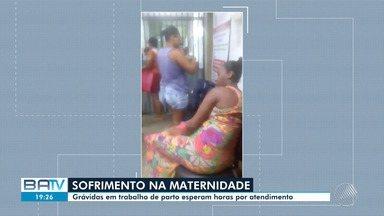 Grávidas reclamam das condições da maternidade Albert Sabin, em Cajazeiras - A reportagem foi ao local ouvir as denúncias; confira.