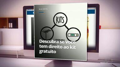 Veja como saber se você tem direito ao kit digital gratuito - O sinal analógico será desligado no dia 28/11.