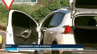 Dois homens morrem depois de reagir a uma abordagem da polícia - O caso foi em Londrina.
