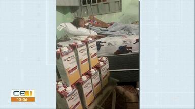 Secretaria de Saúde abre licitação para garantir alimento de senhora vítima de AVC - Saiba mais em g1.com.br/ce