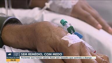 Pacientes que tratam câncer ficam sem remédio que controla doença; Renato Igor comenta - Pacientes que tratam câncer ficam sem remédio que controla doença; Renato Igor comenta