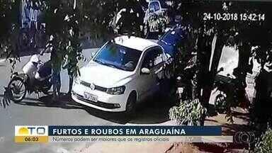 Furtos e roubos são registrados em plena luz do dia em Araguaína - Furtos e roubos são registrados em plena luz do dia em Araguaína