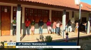 Segundo turno das eleições foi de movimentação tranquila em Macapá - Como quase não houve filas, a votação foi mais rápida