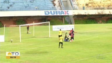 Capital vence Sparta e se classifica para final do Tocantinense do Sub-19 - Capital vence Sparta e se classifica para final do Tocantinense do Sub-19
