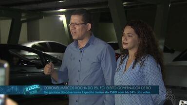 Coronel Marcos Rocha é eleito governador de Rondônia - Marcos Rocha disputou pela primeira vez o governo do estado.