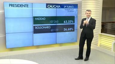 Votação na Região Metropolitana é considerada tranquila - Caucaia e Maracanaú registraram baixo índice de abstenção: 11%