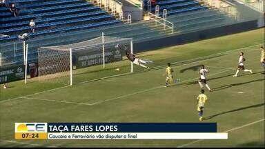 Confira os destaques do esporte no Bom Dia Ceará - As notícias de Ceará, Fortaleza e da Taça Fares Lopes