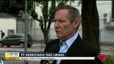 Presidente do PT no ES avalia erros do partido na eleição presidencial - João Coser avaliou atual situação do partido, que perdeu nas urnas para Jair Bolsonaro (PSL).
