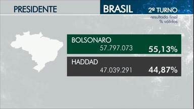 Confira o resultado do 2º turno da eleição para presidente no Ceará - Saiba mais em g1.com.br/ce