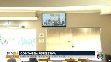 Todas as cidades do Oeste Paulista receberão sinal digital - Desligamento do sinal analógico será dia 28 de novembro.