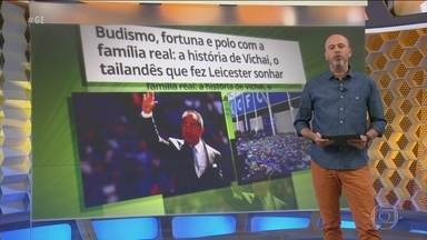 Torcedores do Leicester fazem homenagens após morte de dono do clube em acidente aéreo - Torcedores do Leicester fazem homenagens após morte de dono do clube em acidente aéreo.