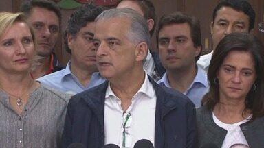 Márcio França reconhece derrota na disputa pelo Governo de São Paulo - Atual governador adotou tom conciliador.