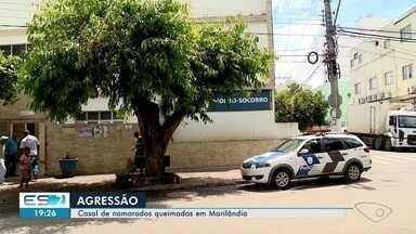Homem é suspeito de atear fogo à namorada e abraçá-la, em Marilândia - Caso aconteceu no final de semana.