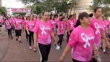 Fim de semana teve quarta edição da Corrida Rosa em Dourados - Competição usou o esporte para divulgar a importância da prevenção ao câncer de mama.