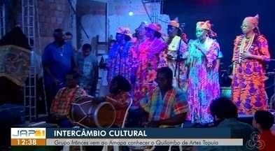 Intercâmbio cultural entre o Amapá e Guiana Francesa - Grupo francês vem ao Amapá conhecer o Quilombo de Artes Tapuia.