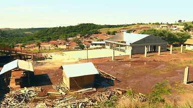 Construção de Escola Estadual em Cornélio Procópio sofre nova paralisação - Escola é uma das investigadas na Operação Quadro Negro.