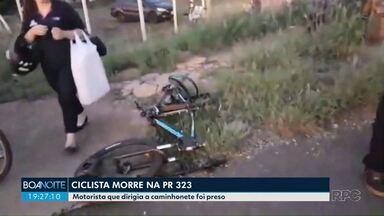 Ciclista morre depois de ser atingido por uma caminhonete - Outros acidentes graves foram registrados na região.