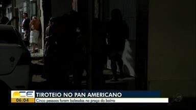 Tiroteio deixa uma pessoa morta no Panamericano - Idoso tinha ido à praça assistir a uma partida de Futebol. Outras 4 pessoas ficaram feridas