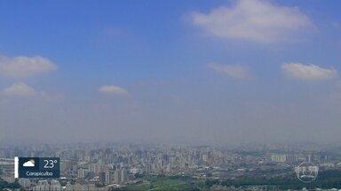 Outubro vai terminar com calor, na Grande São Paulo - Chuva deve voltar na quinta-feira, véspera de feriado.
