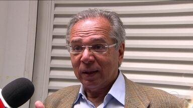 Paulo Guedes defende prioridade para a previdência independência do BC - Futuro ministro da Economia disse que o atual presidente do BC, Ilan Goldfajn, pode ficar no cargo, mas que ainda não houve convite.