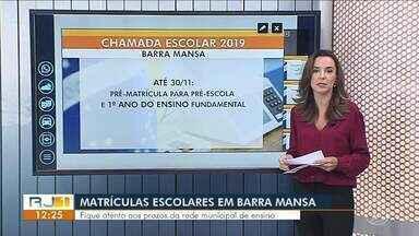 Começam as inscrições para matrícula escolar do ano letivo de 2019 - Confira os prazos para as cidades do Sul do Rio de Janeiro.