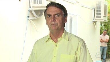 Em coletiva, Bolsonaro fala sobre fusão dos ministérios da Agricultura e do Meio Ambiente - Em um primeiro momento houve quase uma unanimidade dos ruralistas em querer a fusão. Hoje não existe mais essa unanimidade, então tem mais dois meses para decidir.