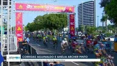 Inscrições para corridas ciclísticas Aguinaldo e Amélia Archer Pinto iniciam em novembro - Inscrições para Copa Rede Amazônica também começam neste mês.