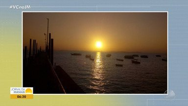 Confira a previsão do tempo desta sexta-feira (2); veja também as fotos do amanhecer - Saiba como fica o tempo no estado.