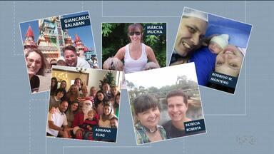 Telespectadores participam enviando fotos de momentos felizes - Participação foi feita pelo app VC na RPC